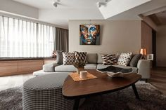 Dark Sophistication: Thirty Year Old Apartment Embraces a Smart, Modern Sheen