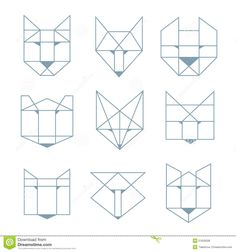 animal geometric - Recherche Google
