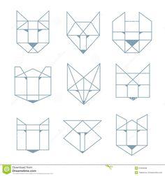 animal geometric - Recherche Google