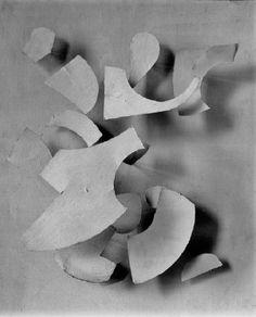 Jean Tinguely - Alivio Blanc-sur-Blanc 1956