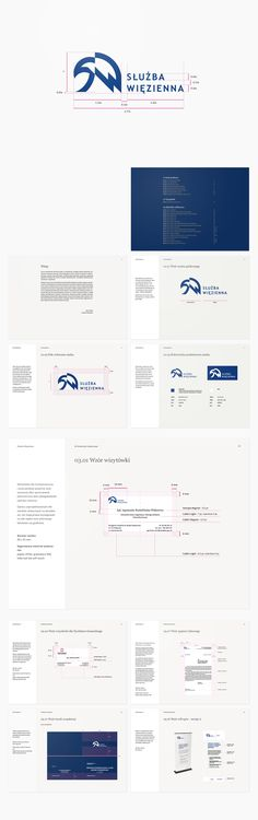 system identification for Służba Więzienna (Warsaw, Poland) - work without logo project Graphic Projects, Corporate Identity, Layouts, Branding, Logo, Design, Brand Management, Logos, Logo Type