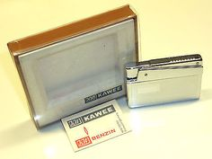 "KW (KARL WIEDEN) CLASSIC POCKET LIGHTER - ""RUETZ SYSTEM"" - OVP - 1965 - GERMANY Collectables:Tobacciana & Smoking Supplies:Lighters:Other Lighters"
