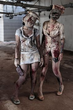 Silent Hill Nurses | by Marco Fiorilli