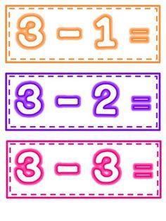Fluency Flashcards: Math Facts to 5 - Vickie Plant - TeachersPayTeachers.com