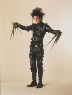 Johnny Depp.  Edward Scissorhands