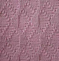 Mirror Chains Stitch - Stitch Sample