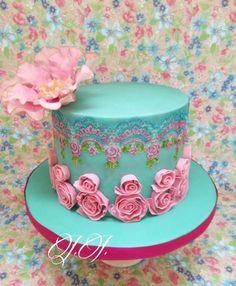 birthday cake Tenderness by Julieta ivanova