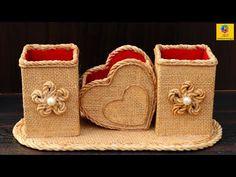 cardboard crafts for adults decor Best DIY Craft With Jute amp; Diy Crafts Hacks, Diy Craft Projects, Decor Crafts, Cardboard Box Crafts, Newspaper Crafts, Popsicle Stick Crafts, Craft Stick Crafts, Burlap Crafts, Craft Desk