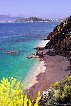 Beautiful beach in Skikda Algeria