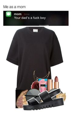 """""""""""Left his body in the lost & found""""😛💜"""" by qveenme-la2 ❤ liked on Polyvore featuring Acne Studios, Charlotte Tilbury, Charlotte Russe, Gorjana and Jeffrey Campbell"""