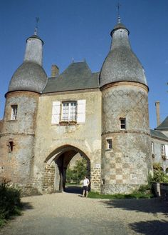 Knights Templar:  The #Knights #Templar Commandery of Arville, Loir-et-Cher, France.