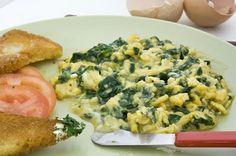 e-cocinablog: revuelto de espinacas con queso