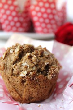"""Winter storms apparently bring out the best in my baking… because these are a real winner!   During our """"snow week"""" last week, I started experimenting with some healthy breakfast muffins and fell in LOVE with this recipe.… Continue Reading →"""