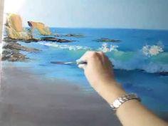 Scott Christensen Seascape Paintings and Ocean Artist - YouTube