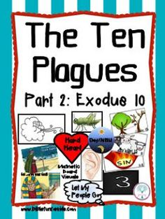 Bible Fun For Kids: Cathy's Corner: Moses & The 10 Plagues Visuals Part 2