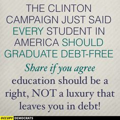 Education should not be just for the wealthy