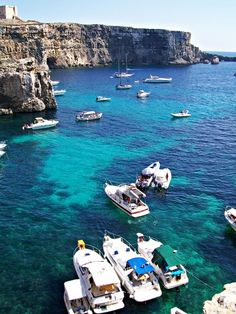 The clear blue waters of Comino | Malta