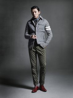YOO AH IN FOR JACK'S FW 2013 CAMPAIGN