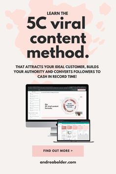 Attract your perfect clients and customers day in and day out with fun, engaging and inspirational content that converts followers to SALES. Discover the 5 types of content every online entrepreneur, coach and course creator needs to sell more of their products, programs and services. Learn how here. Content Strategy || Instagram Captions || Facebook Post Ideas | Social Media Content || Content Ideas || Content Creation | Sales Copy For Coaches || Social Media Post Ideas || Write Better…