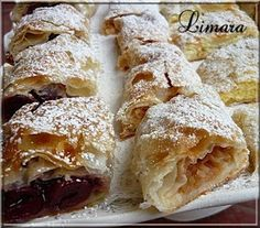 Recipes, bakery, everything related to cooking. Hungarian Desserts, Hungarian Cake, Hungarian Cuisine, Hungarian Recipes, Cream Pie Recipes, Cookie Recipes, Snack Recipes, Snacks, Torte Cake