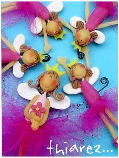 adornos para tortas de 15 en porcelana fria - Buscar con Google