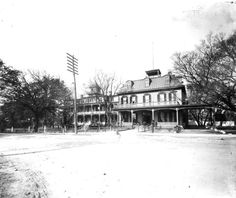 Escambia Hotel Pensacola C 1900 In 1861 The Was Residence Of