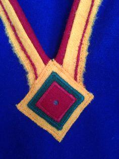 Native Style, Handicraft, Nativity, Folk Art, Crochet Necklace, Embroidery, Craft, Needlework, Needlepoint