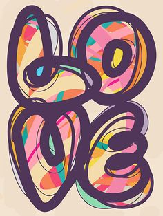 Find images and videos about love, art and graffiti on We Heart It - the app to get lost in what you love. Love Wallpaper, Iphone Wallpaper, Love Heart, Peace And Love, Art Mots, Friedrich Schiller, All You Need Is Love, Love Words, Belle Photo