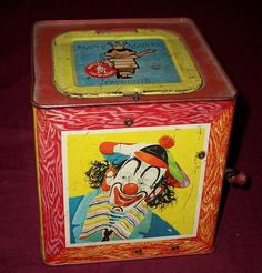 Antique Jack in the Box - 50 Years Old! | Antiques  Vintage Collectibles | Scoop.it