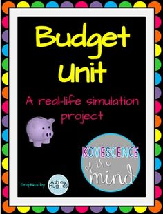 Worksheet Personal Finance Worksheets For High School finance high schools and fun day on pinterest this is a 5 part budget unit that i used with both middle school high