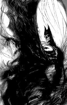 Bill Sienkiewicz: Batman