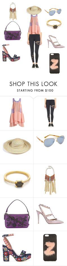 """Follow my polyvore finds..."" by jamuna-kaalla ❤ liked on Polyvore featuring Natasha Zinko, David Lerner, Missoni Mare, Westward Leaning, Samantha Wills, DANNIJO, Coach, Valentino, Tabitha Simmons and Fendi"