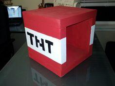 Minecraft TNT box for Jason