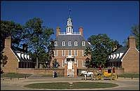 Colonial Williamsburg, and I'd love to see it at Christmas time.