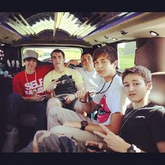 on the bus with the #crew