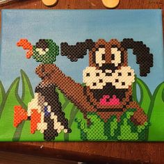 Duck Hunt perler beads by blue_violet_muffin