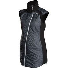 Your fingers will freeze and heat on the cross country track, but it's game over once your core gets cold, so make sure you layer appropriately with the Swix Women's Menali Quilted Vest. This vest has that special touch of warmth that's required for active endeavors like Nordic skiing.