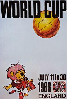 20 posters of the FIFA world cup via Creative Bloq World Cup Russia 2018, World Cup 2018, Fifa World Cup, World Cup Logo, 1966 World Cup, Soccer Poster, Football Posters, England Football, Vintage Football