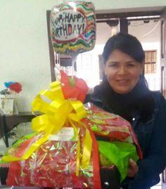 Happy Birthday to you!  Y que vengan muchos más llenos de prosperidad!  UN DULCE DESPERTAR SABANA