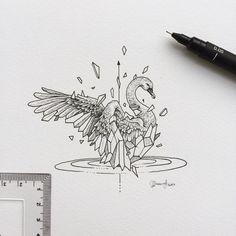 Geometric Beasts | Swan