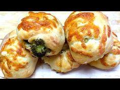 Broccoli Cheddar Fougasse - YouTube