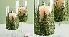 Aprovechando que estamos ya prácticamente metidos de lleno en las fiestas navideñas, te vamos a enseñar hoy como hacer unos sencillos y originales candelabros de velas, utilizando materiales reciclados.  Quedan geniales como decoración navideña.  1/5