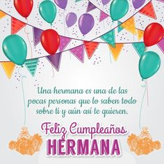 imagenes para felicitar un cumpleaños-personas Happy Birthday Sister, Christian Memes, Sister Quotes, Happy B Day, Love Messages, Baby Dolls, Congratulations, Sisters, Gifts