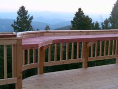 outdoor bar railings