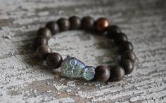 Kids bracelet/ owl bracelet/ kids jewelry/ by brokengypsybracelets