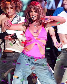 Britney Spears during the 2004 Onyx Hotel tour in Miami, Florida