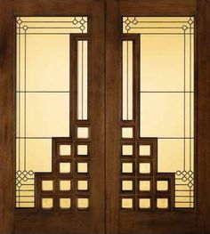 JELD-WEN 260 Custom Wood Glass Panel from waybuild