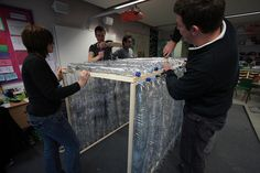 Dept Health Vols help school make greenhouse How to http://www.guardian.co.uk/lifeandstyle/gardening-blog/2009/apr/02/plastic-bottle-greenhouse#