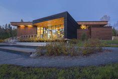 Parc national du Lac-Témiscouata Discovery & Visitor Centre  / bisson, charron architectes