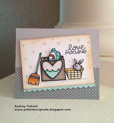 Love Machine #card by Audrey Tokach #PaperSmooches: PS Patrol